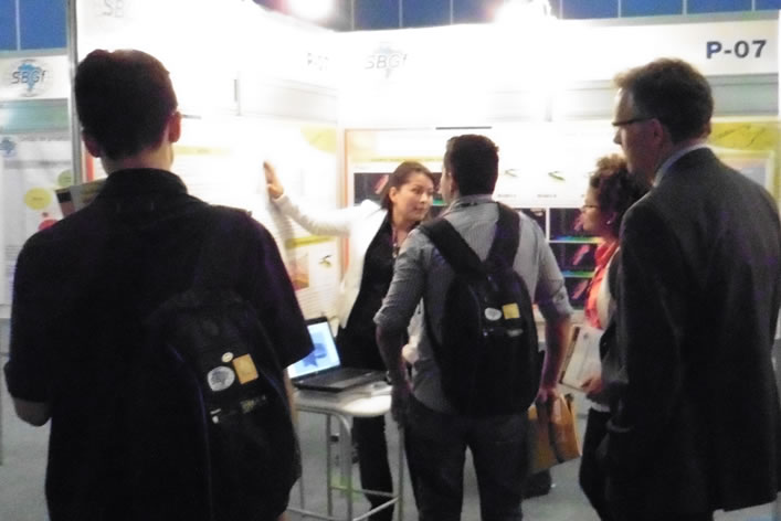 CPVEN participated successful in the 14th International Congress of the Geophysics Society of Brazil